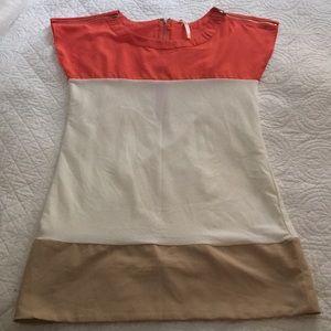 Dresses & Skirts - Color block dress